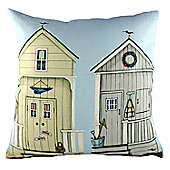 Evans Lichfield Sally Swannell Filled Cushion | Two Beach Huts Design