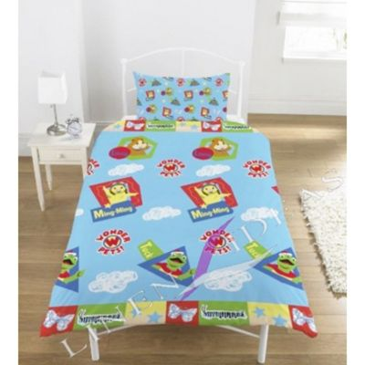 Wonder Pets Rotary Single Bed Duvet Quilt Cover Set