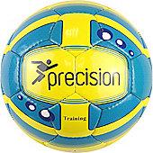 Precision Training Responseball Adult Cyan/Fluo Yellow/Bl