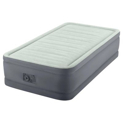 Intex PremAire Raised Single Air Bed with Pump