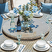 Nova - Heritage Outdoor Rattan 90cm Lazy Susan - Willow