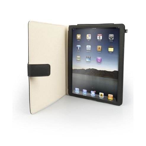 iPad 2 Leather Style Protective Case with Stand
