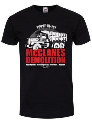 Demolition Men's T-shirt, Black.