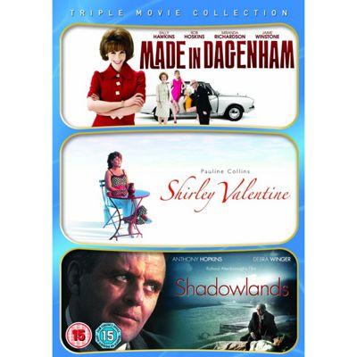 Made In Dagenham/Shirley Valentine/Shadowlands (DVD Boxset)