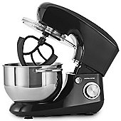Andrew James Stand Mixer with 4 Attachments Including Dough Hook & Whisk - 5.5L - Black