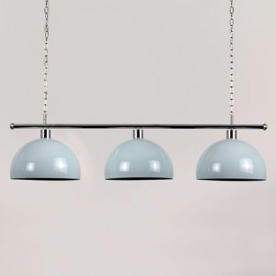 MiniSun Gulliver 3 Way LED Ceiling Light with Curva Shades - 3000K - Blue