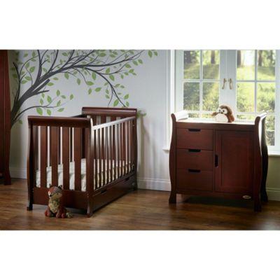 OBaby Stamford Mini 2 Piece Room Set (Walnut)