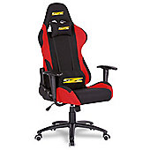 BraZen Shadow PRO Racing PC Gaming Chair - Black/Red