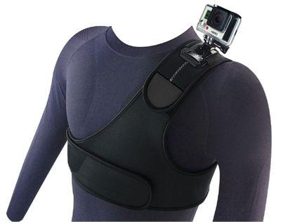 Navitech Adjustable shoulder Strapfor the Maxesla 4K Action Camera 16MP Full HD
