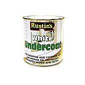 Rustins White Undercoat 1 Litre