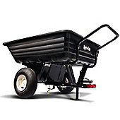 "Agri-Fab 45-0345 8"" Push/Tow Poly Trailer"
