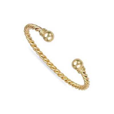 gold twist rose bangles dianne jewellery heavy rodger bangle large collections twisted