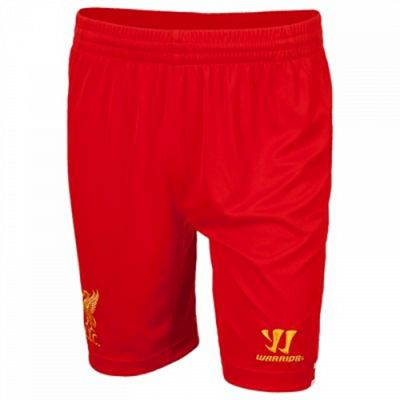 2013-14 Liverpool Home Shorts (Red)