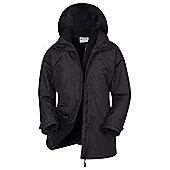 Mountain Warehouse Fell Womens 3 in 1 Water-Resistant Jacket - Black