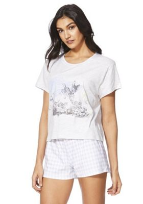Disney Bambi Short Pyjamas Grey Multi 6