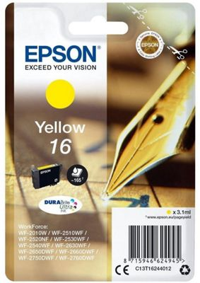 Epson DURABrite Ultra T1624 Ink Cartridge C13T16244012