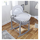 Clair De Lune Stars & Stripes On Grey Wicker