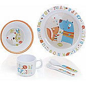 Jane 5pc Microwave Crockery Set (ABC)