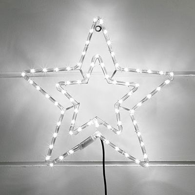Buy white led star rope light silhouette from our all christmas we no longer sell this product aloadofball Choice Image