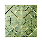 The Real Paving Company Balmoral Octagon Kit 2.3M Rustic Sage