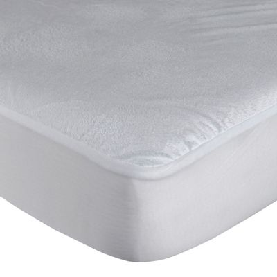 Homescapes Waterproof Terry Towelling Small Double Mattress Protector