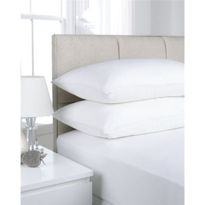 Hamilton McBride White Fitted Valance Sheet - Single