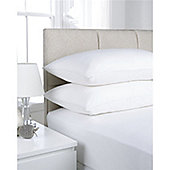 Hamilton McBride Fitted Valance Sheet - White
