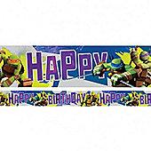Ninja Turtles Foil Banner - 4.5m