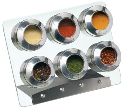 KitchenCraft Magnetic Spice Rack Set