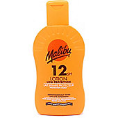 Malibu Sun Lotion SPF12 Low Protection 200ml