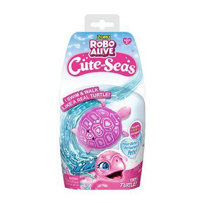 Robo Alive Cute-Seas - Pink Turtle