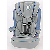 OBaby B is for Bear Group 1-2-3 High Back Booster Car Seat (Blue)
