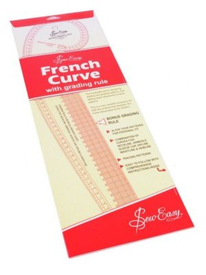 Sew Easy French Curve (Metric Measurements)