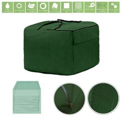 Green Water Resistant Garden Accessories Cover Protector Large Storage Bag