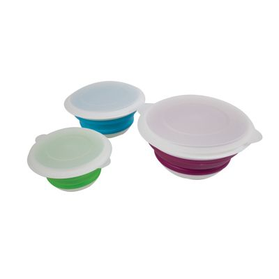 Yellowstone Collapsible Bowl Set 3 Pack