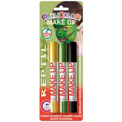 Playcolor Basic Make Up Pocket 5g Face Paint Stick (Reptile Set)