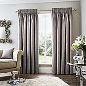 Fusion Rimini Grey Curtains - 90x72 Inches (229x183cm)