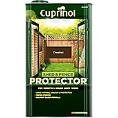 Cuprinol Shed and Fence Protector - Chestnut - 5 Litre