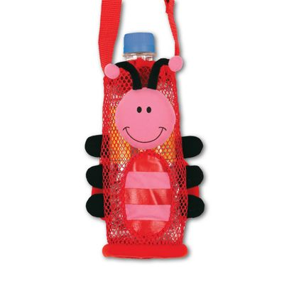 Children's Water Bottle Holder - Ladybug