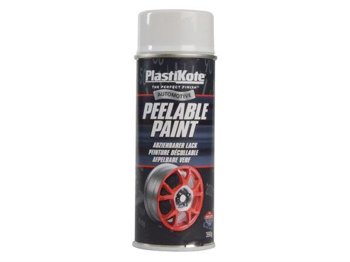 Plasti-kote Peelable Paint White Gloss 400ml