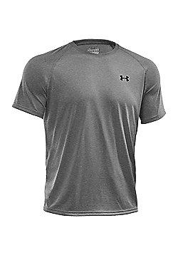 Under Armour Mens Tech Short Sleeve T-Shirt Tee - Grey