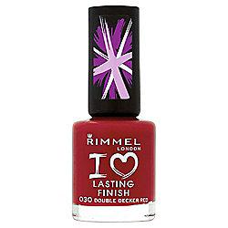 Rimmel London I Love Lasting Finish Nail Polish 030 Double Decker Red