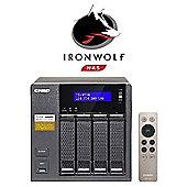 QNAP TS-453A-8G/16TB-IW PR 4-Bay 16TB(4x4TB Seagate IronWolf Pro) Network Attached Storage