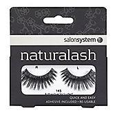 Salon System Naturalash Re-Usable Black 145 Lashes