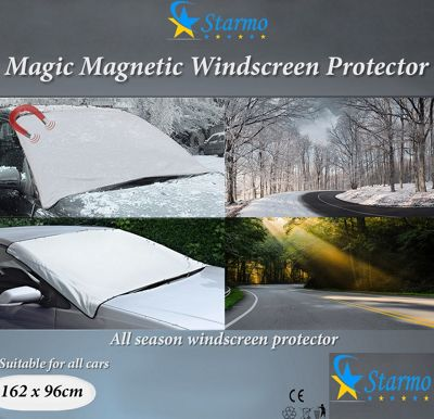 2 x Starmo Car Magnetic Windscreen Cover