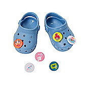 Baby Born Customisable Pin Shoes - Blue