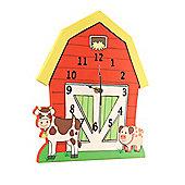 Fantasy Fields by Teamson Happy Farm Wall Clock