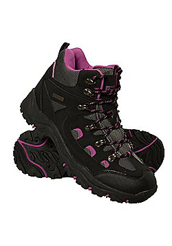 Mountain Warehouse Womens Waterproof Boots Maximum Stability Constructed - Black
