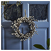 Gold Berry Christmas Wreath, 35cm