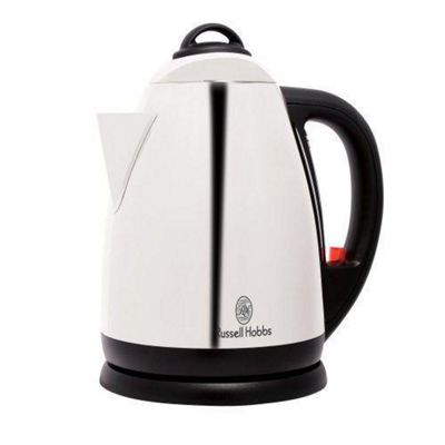 Russell Hobbs Montana 1.7L Polished Kettle - Silver